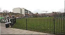 TQ3283 : Shepherdess Walk from Sturt Street, London N1 by John Salmon