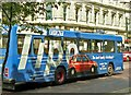 J3373 : Fiat bus, Belfast by Albert Bridge