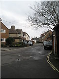 SU3521 : Looking along Love Lane towards The Old House at Home by Basher Eyre