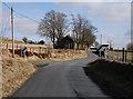 SN7468 : Minor road heading east from Ffair Rhos by Nigel Brown