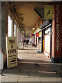 TQ3103 : Shops, Madeira Drive by Simon Carey