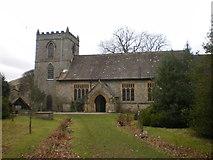 SD9772 : St Mary's Church, Kettlewell by Alexander P Kapp