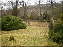 SD9772 : St Mary's Church, Kettlewell, Graveyard by Alexander P Kapp