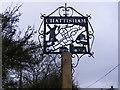 TM0842 : Chattisham Village Sign by Adrian Cable