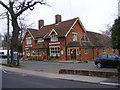 TM0843 : The George Public House, Hintlesham by Adrian Cable