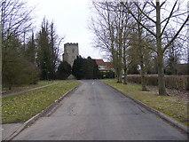 TM0843 : St.Nicholas Church, Hintlesham by Geographer