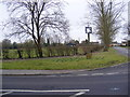 TM0843 : Hintlesham Village Sign by Adrian Cable