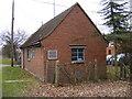 TM1141 : Copdock Telephone Exchange by Geographer