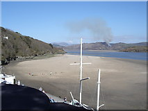 SH5837 : Glaslyn Estuary from the Portmeirion Hotel by Ian Cunliffe