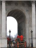 TQ2879 : Wellington Arch, Hyde Park Corner by Martin Thirkettle