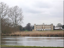 TQ1776 : View of Syon House from Kew Gardens by pam fray