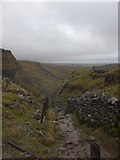 SD8964 : Looking down Ing Scar by Dave Beynon