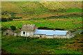 B8932 : Meenlaragh - Building at  west side of Ballyness Bay by Joseph Mischyshyn
