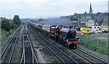 SK3871 : Steam through Chesterfield by roger geach