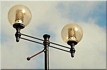 J3474 : Laganside lights, Belfast (1) by Albert Bridge