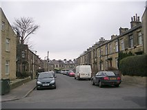 SE1734 : Westfield Terrace - Pollard Lane by Betty Longbottom
