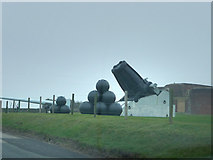 SU6007 : Artillery display outside Fort Nelson by Chris Gunns