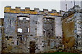 C0832 : Doe Castle - part of NW side of castle by Suzanne Mischyshyn