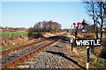"TQ8632 : ""Whistle"" Kent & East Sussex Railway by Oast House Archive"