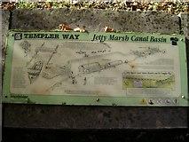 SX8672 : Stover canal interpretation panel by Robin Stott
