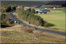 NT4559 : The A68 at Soutra by Walter Baxter