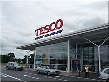 ST0207 : Cullompton : Tesco Superstore by Lewis Clarke