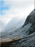 SH7013 : Scarp of Cadair Idris, winter. by Roger Whitfield