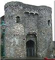 SN4119 : Carmarthen Castle Gatehouse by Mick Heraty
