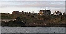 NT6779 : Dunbar from the sea by Richard Webb