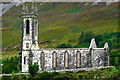 B9219 : Derelict church at base of Mount Errigal near Dunlewy by Joseph Mischyshyn