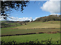 SO4321 : Hillside pastures by Pauline E