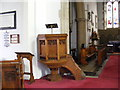 TM3862 : St.John the Baptist Church Lectern by Geographer