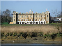 TQ1776 : Syon House from Kew Gardens by don cload