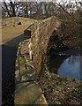 SE2702 : Oxspring bridge (closed to traffic) by Steve  Fareham