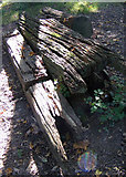 TQ2636 : Remains of Ifield Post Windmill, Goffs Park, Crawley by Justin Brice