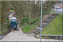 SU4016 : Pedestrian routes under Oakwood Drive by Peter Facey