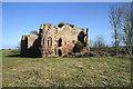 NT8843 : Twizel Castle by Walter Baxter