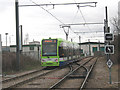 TQ3066 : Tram and  depot near Therapia Lane by Stephen Craven