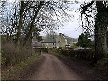 NU0012 : Prendwick Farm from the west side by Andrew Curtis