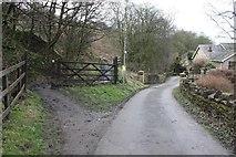 SE2425 : Kirklees Way at Howley Mill Lane by Richard Kay