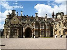 ST5071 : Tyntesfield House main entrance by Brian