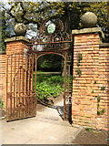 ST5071 : Tyntesfield: Ornate Entrance Gate to the garden by Brian