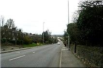 SE2140 : Harrogate Road - viewed from Moorfield Drive by Betty Longbottom