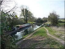 SU7451 : Basingstoke Canal from Colt Hill Bridge by Diane Sambrook