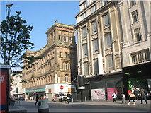 SJ3490 : Shops in the Church Street by Eric Jones