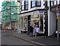 SX9165 : Hospice shop, Fore Street, St Marychurch by Joan Vaughan