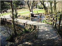 SX4168 : Cotehele Mill Footbridge by Brian