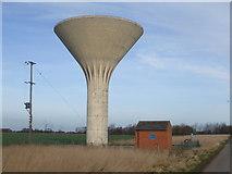 SE8317 : Carr Lane Water Tower by Glyn Drury