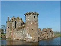 NY0265 : Caerlaverock Castle by Iain Russell