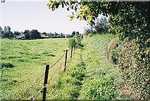 TM4160 : Footpath to Friston by Ron Galliers